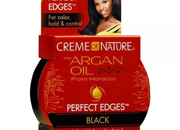 Argan Oil Perfect Edges Black Creme of Nature