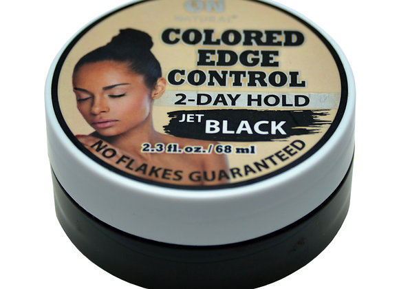 ON Natural 2 Day Edge Control Jet Black.