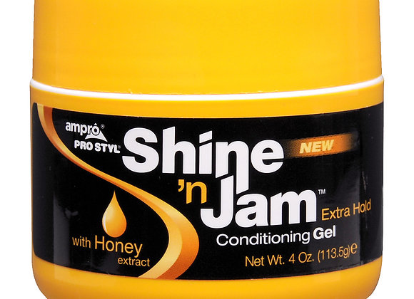 Conditioning Gel Extra Hold Shine N Jam.