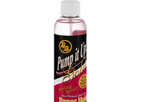 Pump it Up Gold Styling Spray Bronner Bro