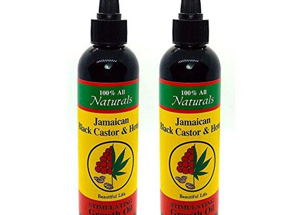 Jamacian Black Castor & Hemp Oil