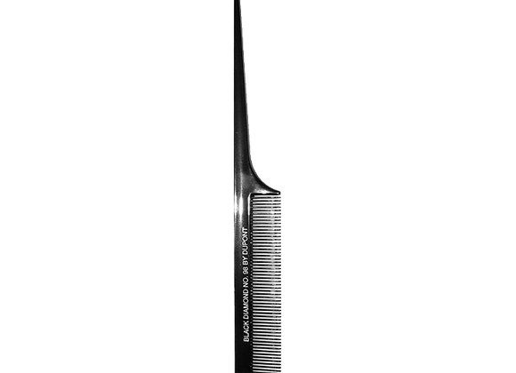 Metal End Rattail Styling Comb
