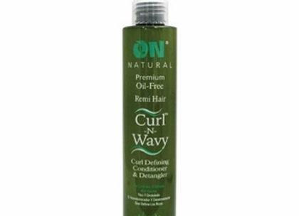 Avacado Curl N Wavy Detangler & Conditioner.