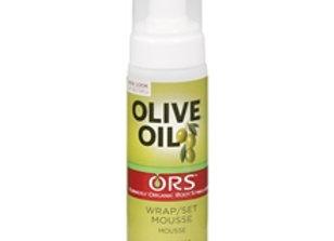 Olive Oil Wrap/Set Mousse ORS