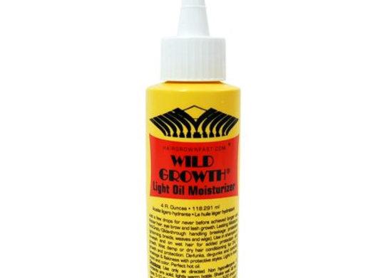 Wild Growth Oil Light Formula