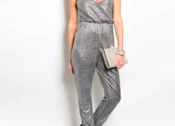 Silver Platter Jumpsuit.