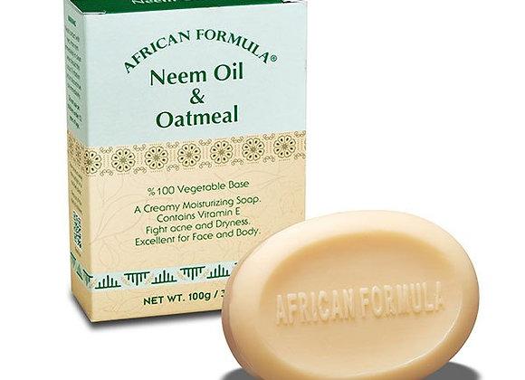 Neem Oil & Oatmeal Soap African Formula