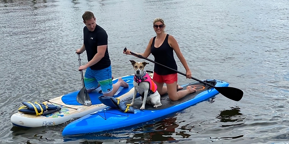 Doggie Paddle Yappy Hour with WLK and Capital SUP