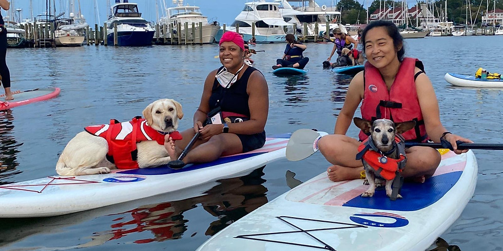 Doggie Paddle Yappie Hour with WLK and Capital SUP