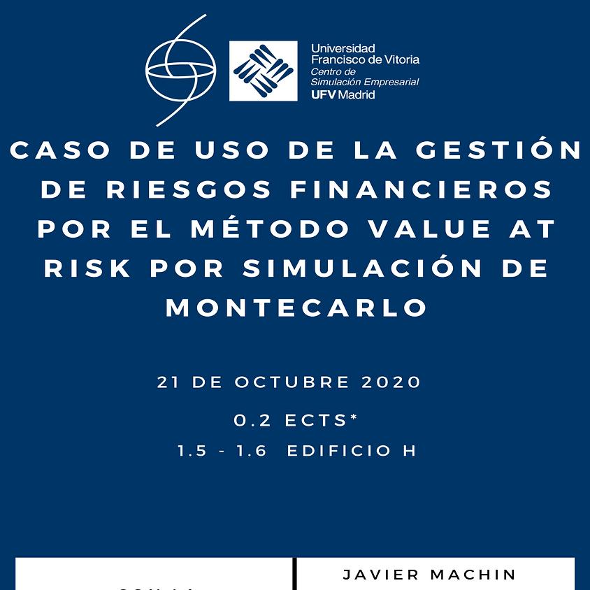 AFC – Caso de uso de la gestión de riesgos financieros por el método Value at Risk por simulación de Montecarlo