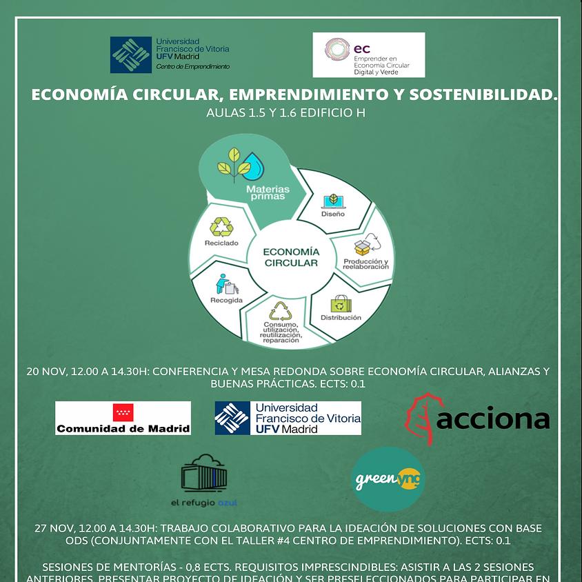 Economía circular, emprendimiento y sostenibilidad.