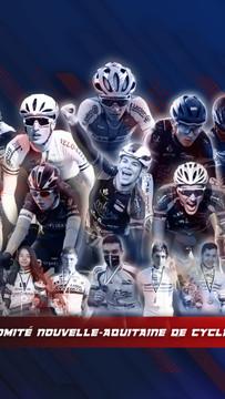 Création montage photo cyclisme Nouvelle-Aquitaine