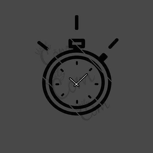 Image Chronomètre noir