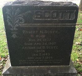 Artemesia Scott Headstone