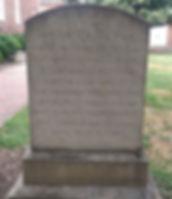 Henry Fairfax Headstone