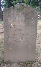 John Carolin Headstone
