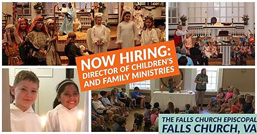 Now Hiring Director of Children's and Family Ministries