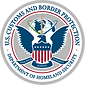 Department of Homeland Security – Cutoms and Border Protection Seal