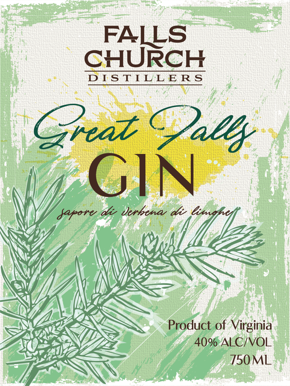 Great Falls Gin Lemon Verbena-01