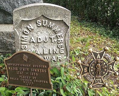 Simon Sommers Headstone