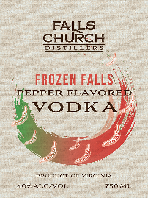 Frozen Falls Pepper Flavored Vodka