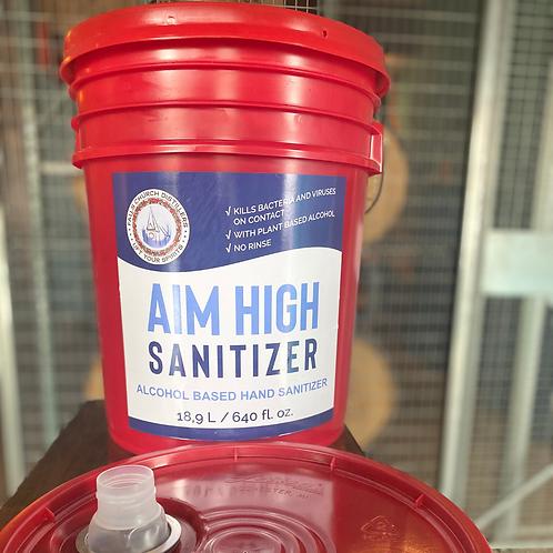 Aim High Sanitizer - 5 Gallon