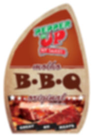 Artwork for the BBQ Sauce label