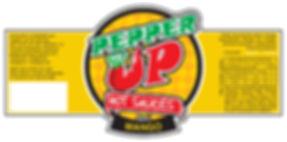 Artwork for the Mango Pepper label