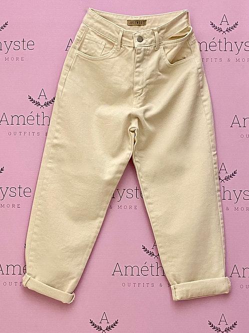 Jeans Apertura un lato