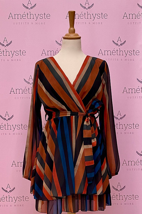 Vestito Autunno Multicolor