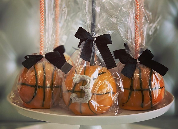 Basketball  themed Party Apples
