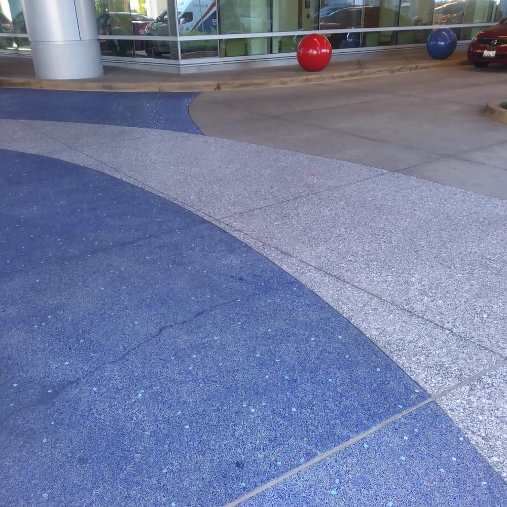 Concrete Coloring
