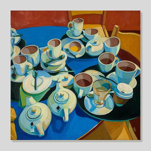 Tea at Waterstones