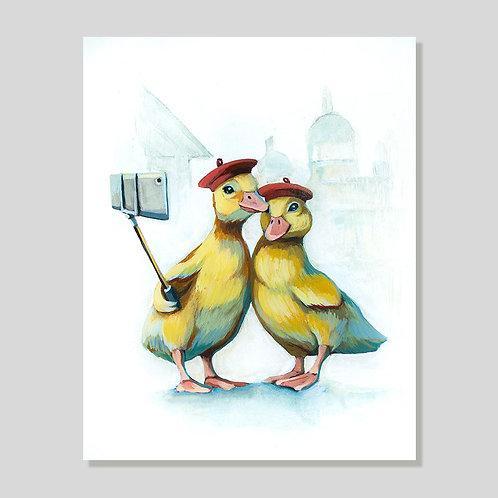 Print: Duckie