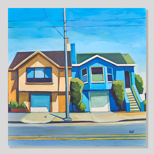 Yellow & Blue Houses