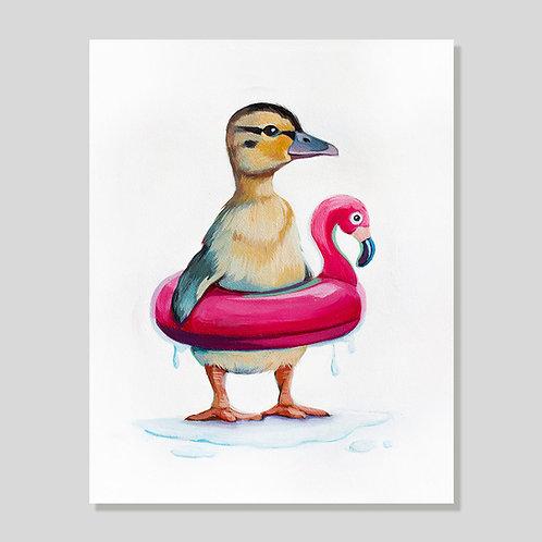 Print: Inner Duck