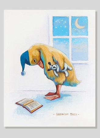 Print: Goodnight Duck