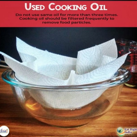 Reusing of Oils and Health effects