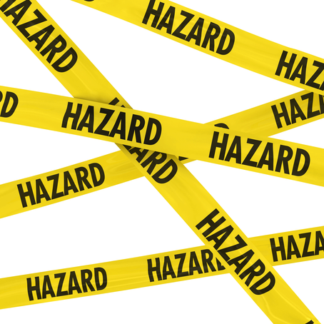 Three types of hazards that cause foodborne illness.