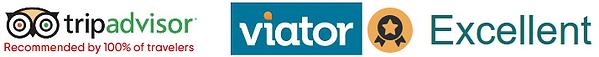 Viator Excellent - TripAdvisor 5.0 star