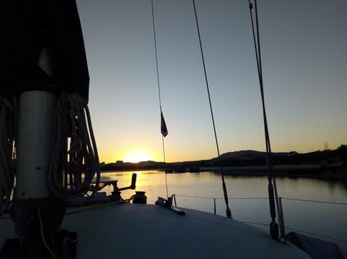 Sunset over Arrábida