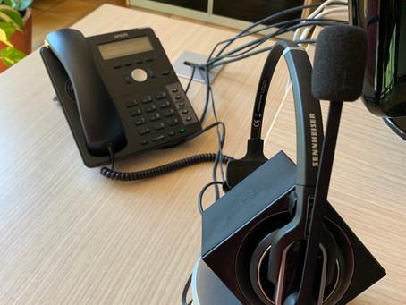 La permanence téléphonique.
