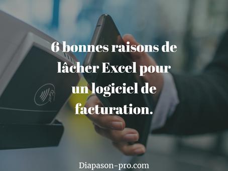 6 bonnes raisons de lâcher Excel pour un logiciel de facturation