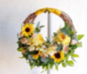 カクテルドレスのbouquet._今日は専門学校時代の友人の結婚式でした。_色ん