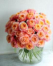 『真実の愛』_深い意味がある40本の薔薇の花束🌹_・_プロポーズ用にご依頼頂き