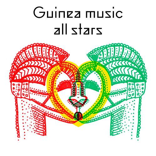 EP CD Guinea music all stars
