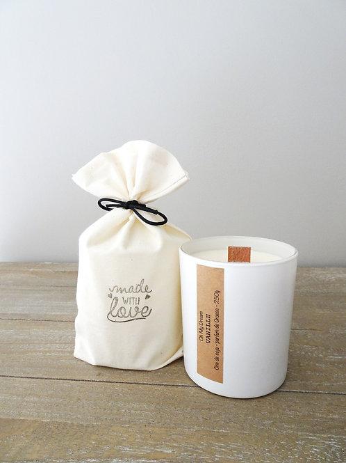 Bougie parfum Vanille -250g