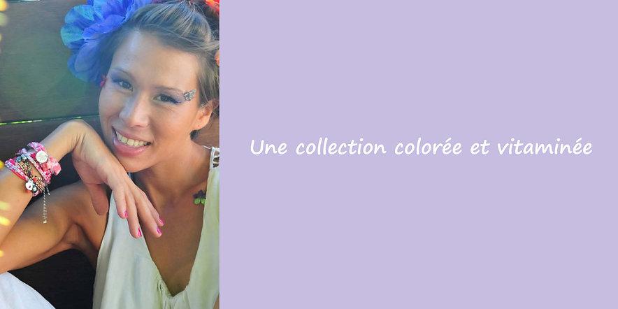 Alika Tahiti, collection bijoux polynésiens colorée et vitaminée, Papeete. Un florilège de couleurs, des bijoux avec des perles de Tahiti, des nacres, des coquillages, un style jeune et casual