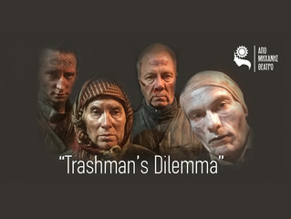 Trashman's Dilemma surfaces in Athens, Gr.