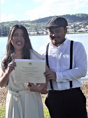Booragul Foreshore Wedding